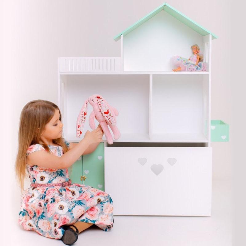Дом с ящиком для игрушек