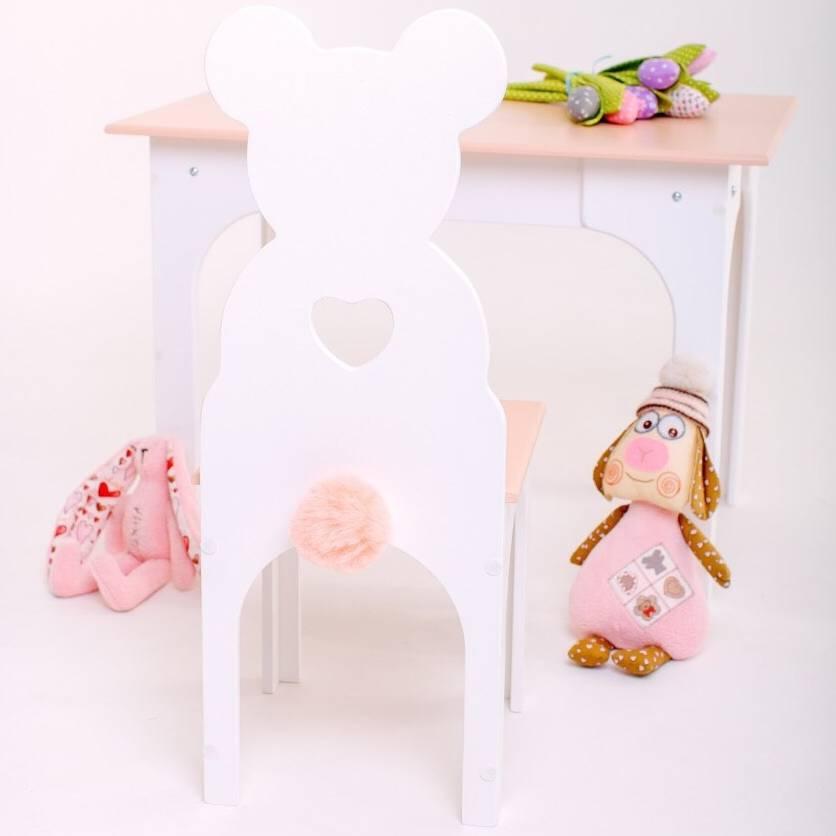 Комплект стол и стул Медвежонок