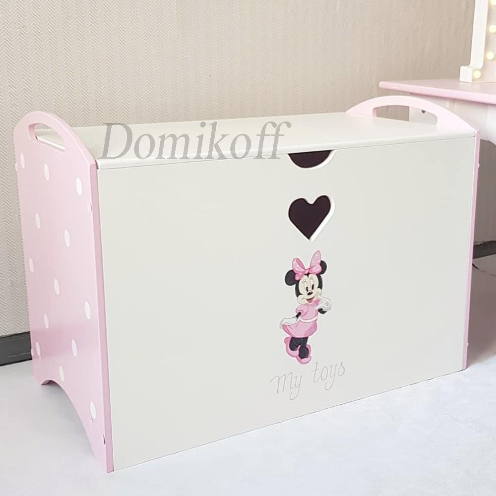 Ящик для игрушек с Минни