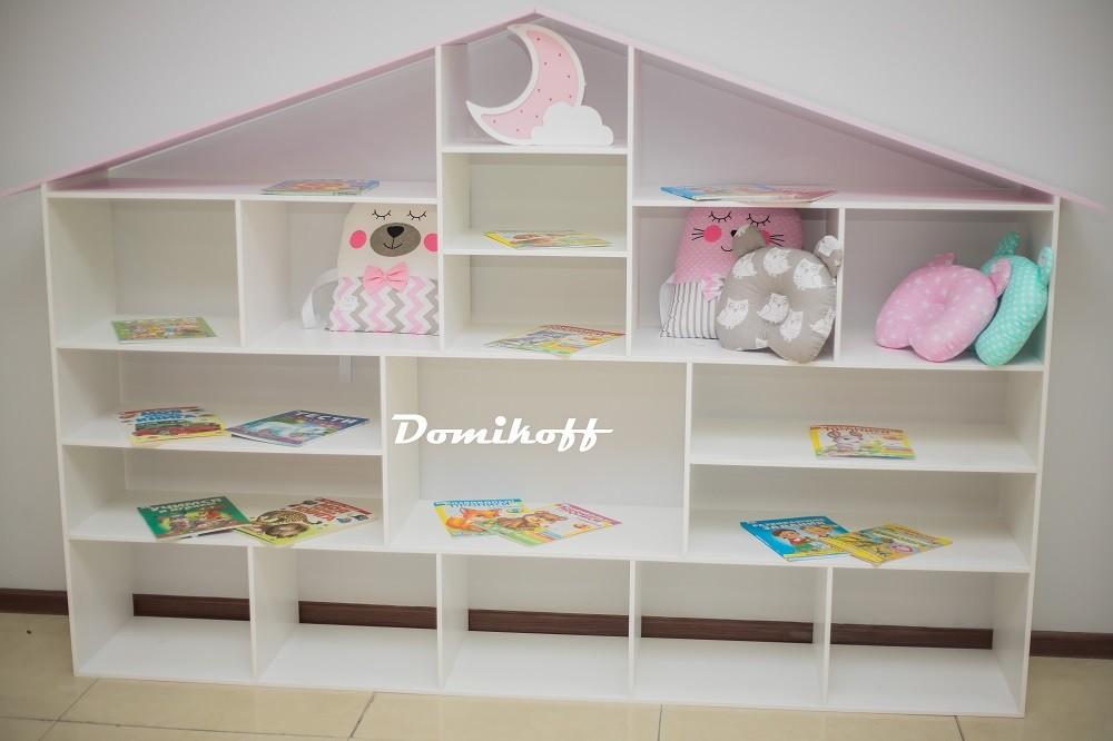 Стеллаж -дом для детской