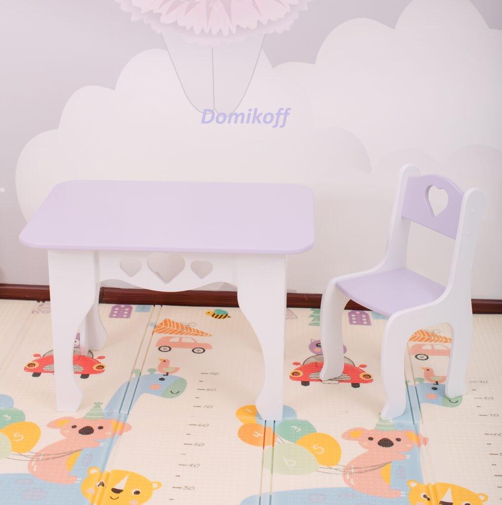 Комплект стол и стул для детей