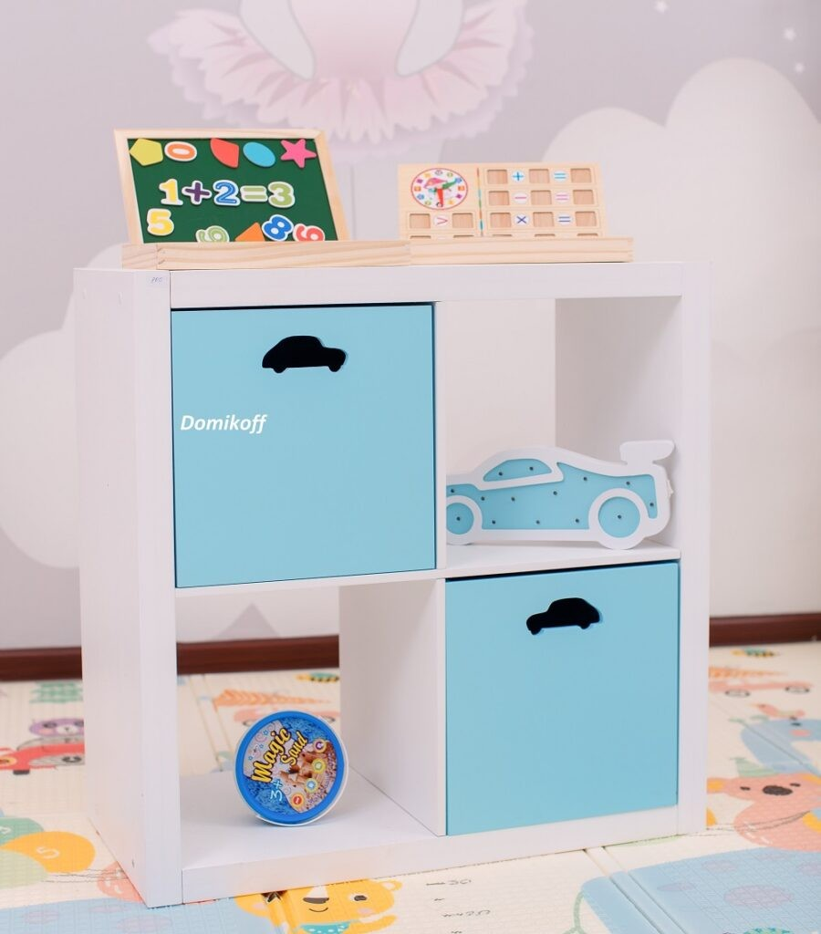 Стеллаж  для хранения игрушек, одежды