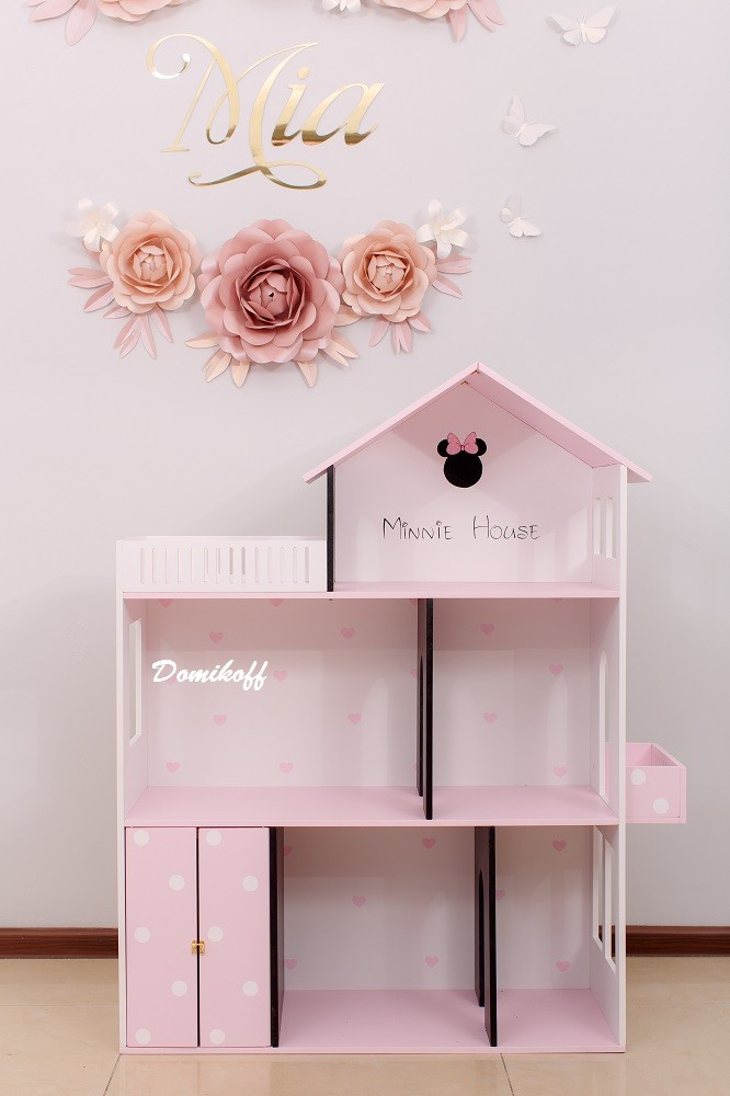 Домик для кукол Минни Маус