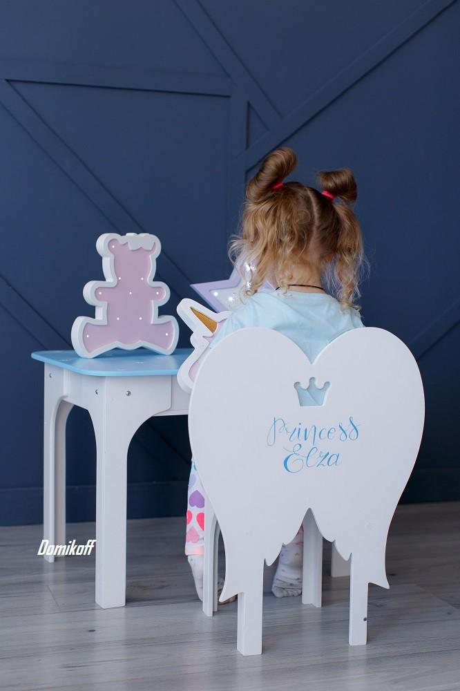 Комплект стол и стул Ангел